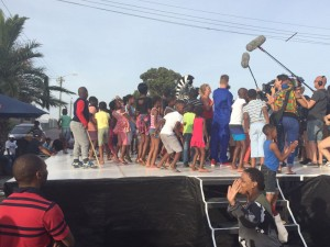 Location Gugulethu Dance challenge