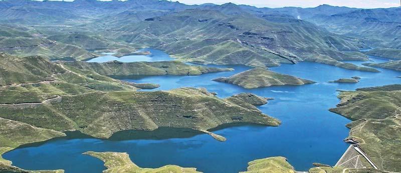 Mohale Dam Lesotho Film Fixers TV Production Location scout